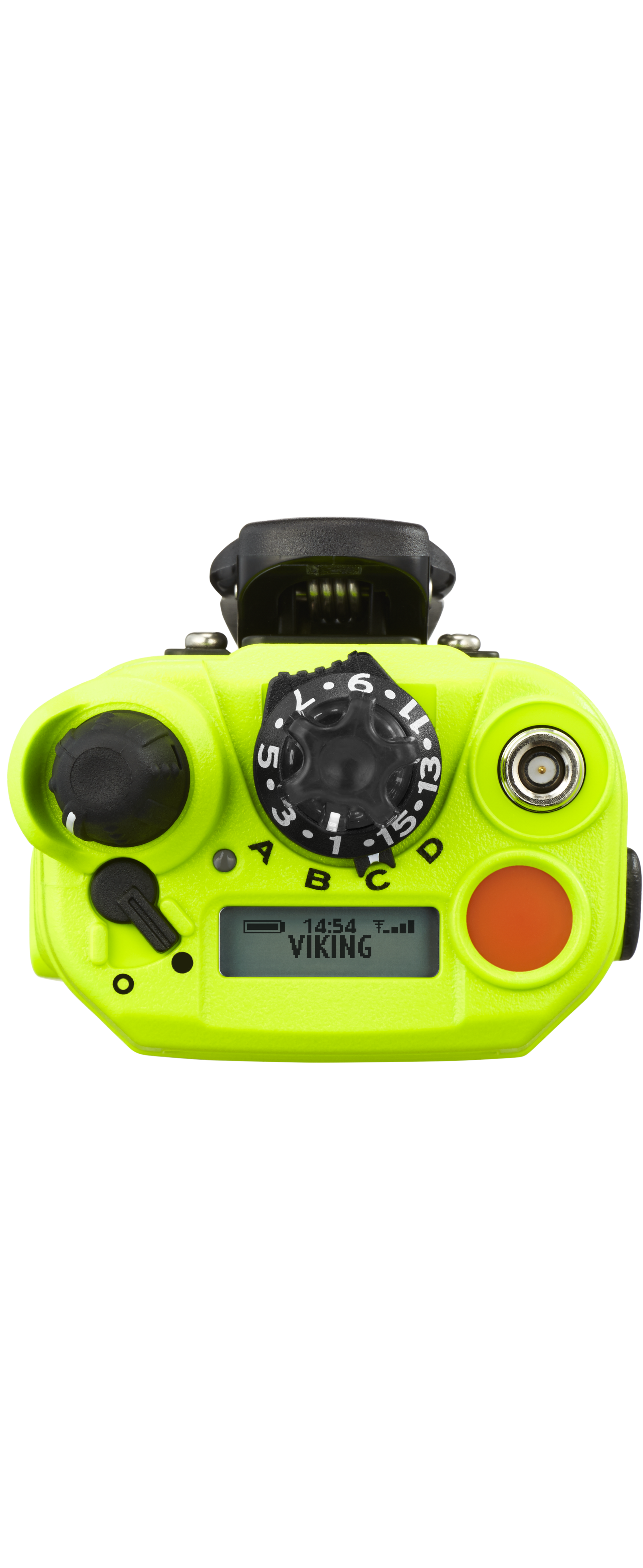 Viking VP6000 Fire viewed from the top